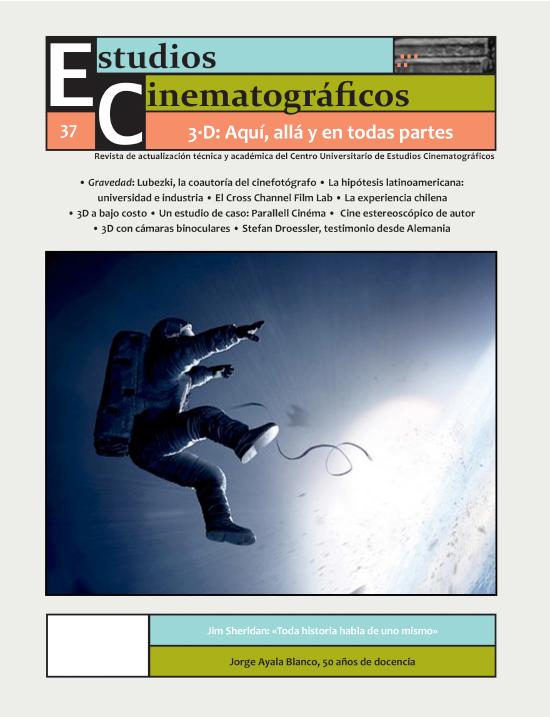 37 «3D: Aquí, allá y en todas partes» Centro Universitario de Estudios Cinematográficos : UNAM Image