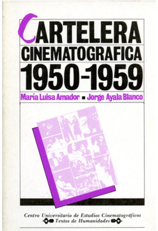 Cartelera Cinematográfica 1950-1959 Image