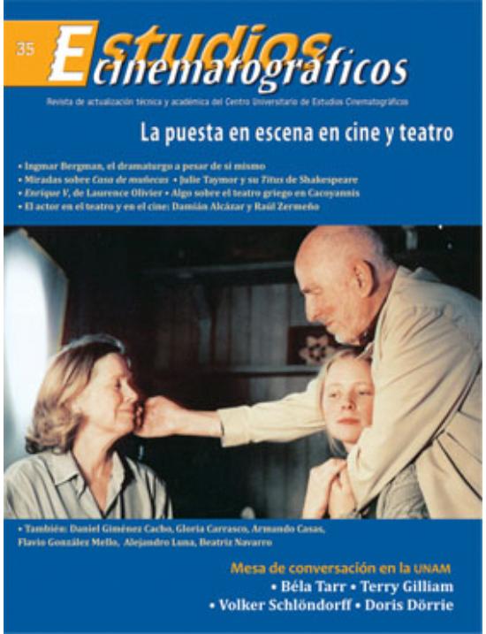 35 «La puesta en escena en cine y teatro» Centro Universitario de Estudios Cinematográficos : UNAM Image