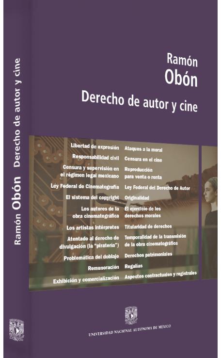 Ramón Obón Derecho de autor y cine Image