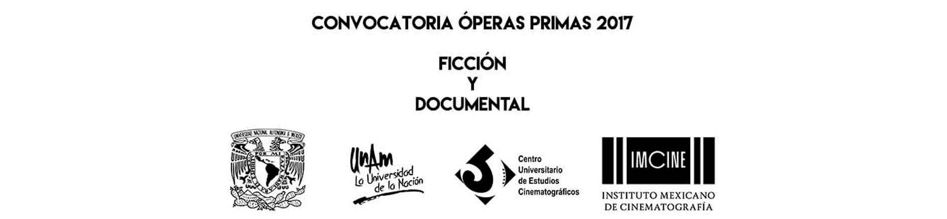 Convocatoria óperas primas 2017